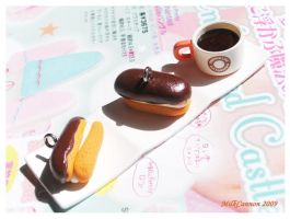 Chocolate Eclair Charms by MilkCannon