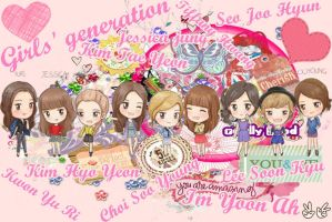 SNSD_Girls'Generation_Edited_Picture 1# by diela123