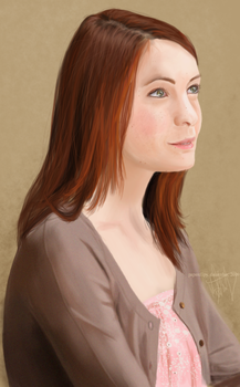 Felicia Day by PaperClipy