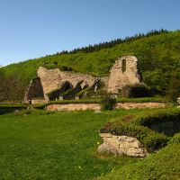 The Ruins of Alvastra Abbey I by Photopathica