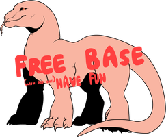 Free Steppe Wyrm Base (Now with PNGs available!) by louiecorn