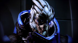 Garrus Vakarian by celyntheraven