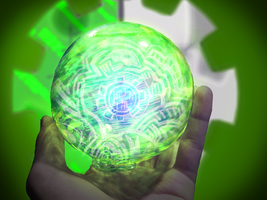 Green Orb by MechanicalSynergy