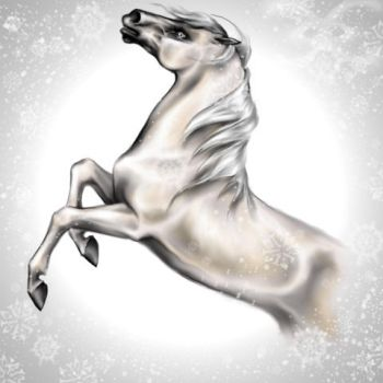 The Silver Brumby by Mutley-the-Cat