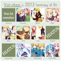 2013 Summary of Art by yui-22