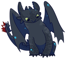 Toothless by phyxor