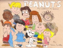 The Peanuts Gang by AnimationFanatic