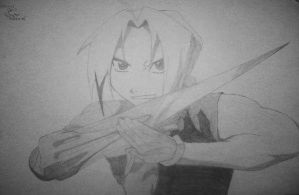 edward elric again by chibibookworm221