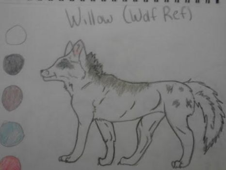 Willow (Wolf Ref) by LockettKey3