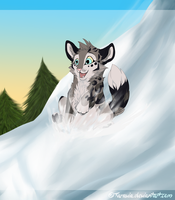 Snow Slide by Taravia