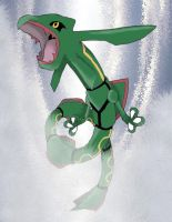 Rayquaza 384 by Inudono19