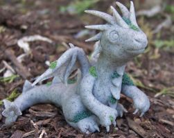 Stone dragon by DaniClayCreations