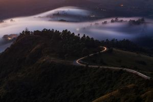 The Road is long by carlosthe