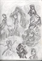 Disney Characters by doveangel123