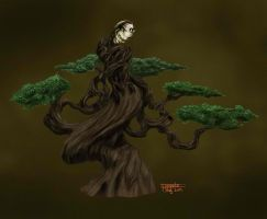 Bonsai Creature for Train Your Brain Contest by floopate