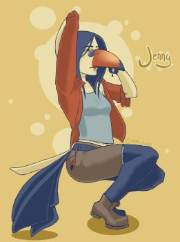Jenny by darklightartist