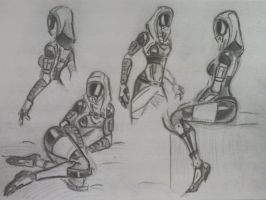 sketches Tali (41) by spaceMAXmarine