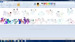 Ataninjagurly request WIP by nyan-cat-luver2000