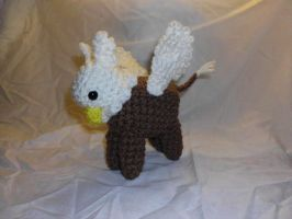 Crochet Gryphon by Alicia1018