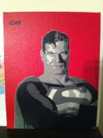 Superman by Stencils-by-Chase