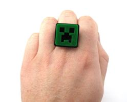 Creeper Ring by milkool