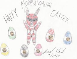 Happy MORPHINOMINAL Easter by Jred20