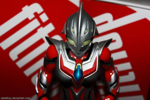 Ultraman  Nexus Junis by sleekpixels