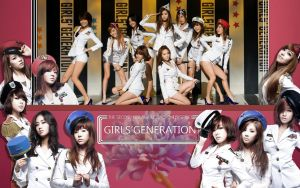 SNSD Website interface by 1126jjk