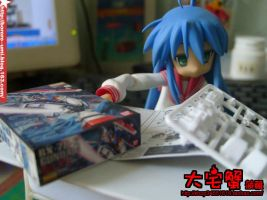 Izumi Konata and Desk DIY 2 by Bororo-Umi