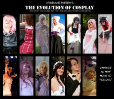 The Evolution of Cosplay by xPandorae