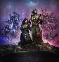 Death and the Maiden World - Contest Finalist by t-cezar