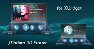 Modern 3D Player for xwidget by jimking