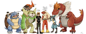 Danisnotonfire's pokemon x team by orsholya