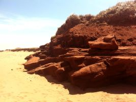 Sandstone Outcrop by DanielLightfoot