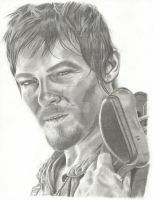 Daryl Dixon by Andrea320