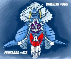 Froslass and Walrein by Capitan-Mark-Antony