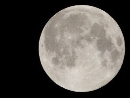 No retouch of full moon of 08/30/2015 by A1Z2E3R