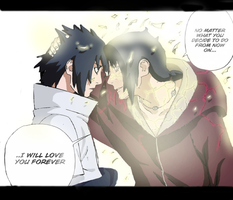 I Will Love You Forever by SasukeUchihaFan55