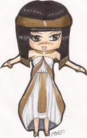 Request: Egyptian Princess Chibi for Saroja by Basket-Of-Fruit