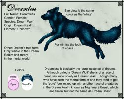 Character Sheet: Dreamless by SD-DreamCrystal