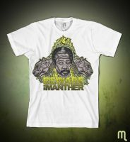manther tshirt by blunderbuss78