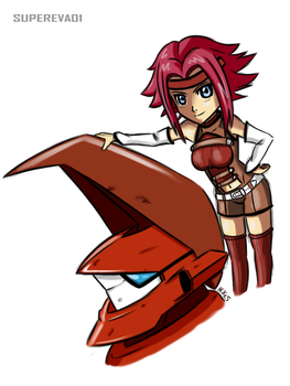 Kallen and Guren by supereva01
