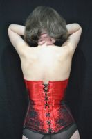 More Red Satin by VelvetTouches