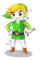 Toon Link~ by TheDevilOfTomorrow