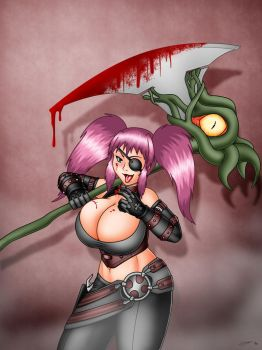 Zaeta, the Demon Hunter by Evil-Rick