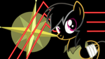 Daring Do Neon Wallpaper by RDbrony16