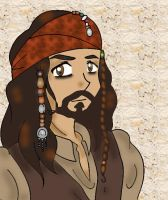 jack sparrow by VioletLunchell