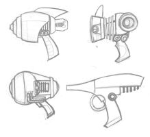 Rayguns by GrayGinther