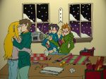 Crazy Chaotic Christmas by HosekiDragon