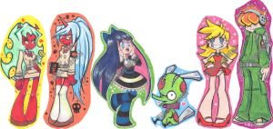 Bookmark-Paperchildren Batch1 by WitchZilla